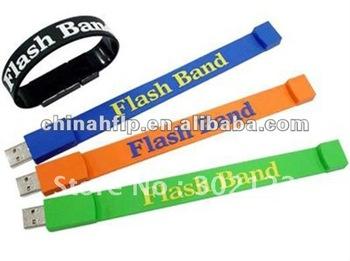 Promotional USB Wrist Band 2.0 flash drive