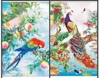 HD 3D stereoscopic paintings/Don't take Picture frame/two picture change 3D picture/size25*35/Retail or wholesale-parrot5032
