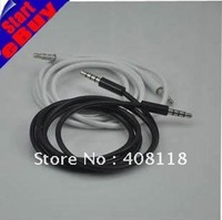 3.5mm on 3.5mm audio cable+Car aux line +on the recorded cable for Ipod Free shipping