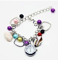 Promotion! 10pcs/lot hot style wholesale Jewelry Bangle bracelet wrist fashion  Women's watch Ladies