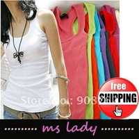 hot selling woman tank tops 5pcs/lot free shipping HK airmail