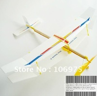Soaring Rubber Band lastic  Powered Glider Plane Kit Aircraft Model Toy