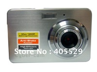 Free shipping! 8X digital zoom Digital Still Camera;2.7inch LTPS display screen Anti-Shake function camera;