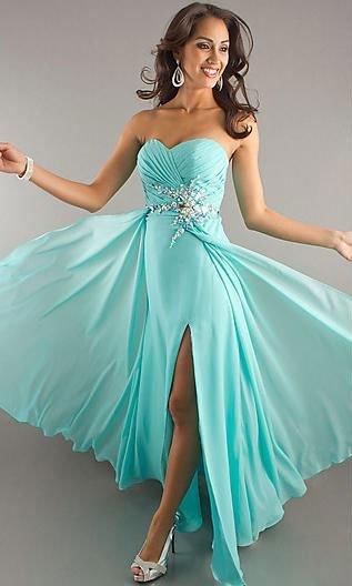 Очень красивое платье вечернее фото
