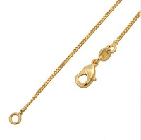 18K Gold Filled 18 inch 0.9mm Necklace Chain 00B001