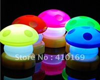 Christmas gift technology LED Night Light Fashion Small mushroom lamp shaped Pat 20 pcs lot