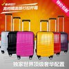 20inch  ABS+PC fashion smooth face trolley luggage/travel suitcase with spinner 8pcs wheels(China (Mainland))