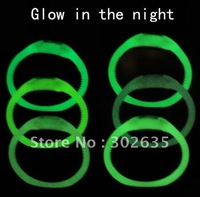 500pcs/lot Anion negative Wrist Bracelet Silicone watch glow in the dark