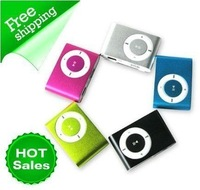 30 pcs Clip Mp3 music mp3 player clip metal mp3 factory price 100pcs+usb cable+earphone+Memory card L03f