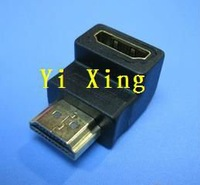 HDMI male to HDMI female 90 degrees Adapter ,100pcs/lots
