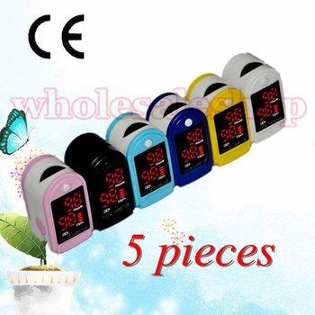 Finger Fingertip Pulse Oximeter,SPO2 Monitor, Oximetry 5 pieces per lot