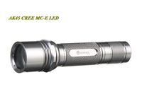 ANOWL AK45 CREE MC-E MCE LED FLASHLIGHT THREE MODES 1X18650 BATTERY 900LM CREE LED FLASHILIGHT