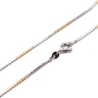 18k gold plated flat chain for pendants 18' Free shipping new  00B042