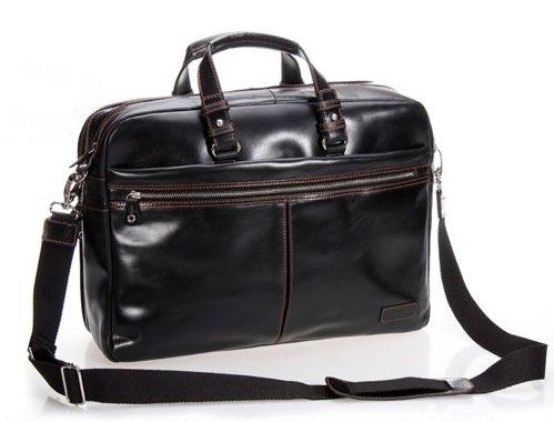2014 винтаж кожа стиль мужчины шатен портфель сумка сумки ...