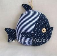 home deocr-ocean-fish hanger-fabic fish-clown fish hanger-24pcs/lot