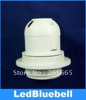 Free Shipping  E27 screw semi-tooth lampholder / display E27 lampholders / lamp / chandelier dedicated E27 plastic lamp holder