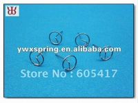 Manufacturer supplied stainless steel wire form spindle pin