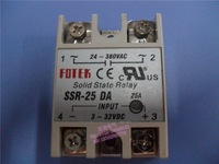 25A SSR,input 3-32V DC output 24-380V AC single phase ssr solid state relay