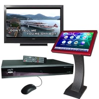 FREE SHIPPING-Karaoke Machine Support SATA Hard Drive & Touch Screen