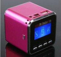 New Arrival Super strong portable mini speaker Built-in auto scan FM radio speaker digital speaker