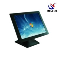 1 month hot promotion! 15'' industrial touch panel pc,D525 CPU,1G RAM,16G SSD