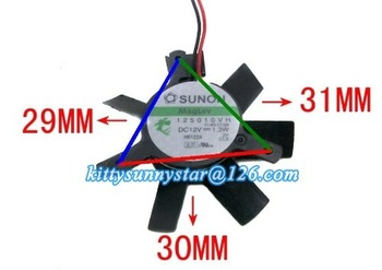 SUNON 5010 125010VH 12V 1.3W Maglev Fan,Graphic Card Fan,VGA Fan,Cooler Fan,Cooling Fan