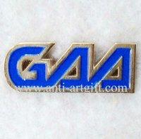 Free shipping,company logo emblem,zinc alloy badge,metal lapel pins