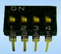 DIP Switch: 300PCS HAM/DIP Switch 4P toggle switch, Quality assured & ROHS