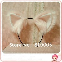 Pink cat ears/Customized products A variety of festivals cospaly