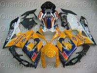 Free shipping SUZUKI 05-06 GSXR1000 GSXR 1000 Bodywork Fairing K5   201 yellow black white