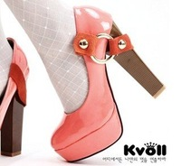 New Arrival 2012 nightclub woman sexy pointed high heel shoes wholesale free shipping.
