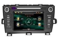 7'' GPS DVD Player for  Toyota Prius Touch screen steering wheel control function