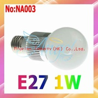 2014 Limited Promotion free Shipping Wholesale 10pcs/lot Ac 90v-265v Led Bulbs E27 with Epistar Chip 3 Years Warranty #na003