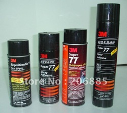 Original 3M Super 77 Multipurpose adhesive/Multiuso adhesive/ 3m gule/475G per bottle/ Made in USA(China (Mainland))