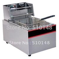 Electrical Fryer(EF-85)/8.5 Lter/S.steel/Fast heatup/Oil tape type