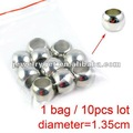 DIY Jewelry Accessories,Diameter:1.35cm,Wholesale CCB Beads Findings,2012 Fashionalble, PT-359