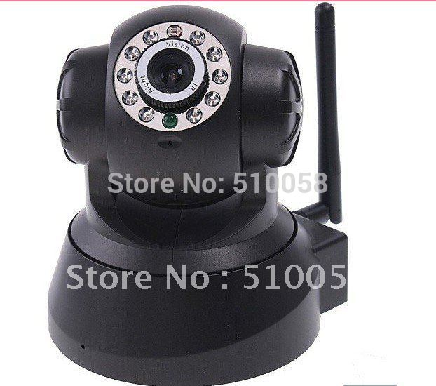 Promotion Wireless WIFI IP Camera IR LED 2-Way Audio Nightvision CCTV camera(China (Mainland))