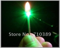 Burn matches, Strong Power green Laser Pointer  200mw Strong power green laser, burn matches. GT-L006