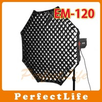 JINBEI EM-120 Octagon Studio Grid Softbox with Honey Comb grid JINBEI hot sale
