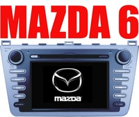 "7""DVD GPS BLUETOOTH CD/RADIO/MP3/MP4/TV/iPOD in/REVERSE PARKING CAMERA for MAZDA 6"