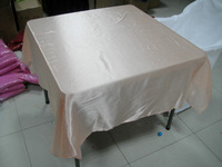 satin square table overlay 58inch