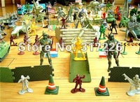 Freeshipping Wholesale Toy Figure Models Ultra-large-scale Military Parade B set(200 pcs)(1.5-5 inch)