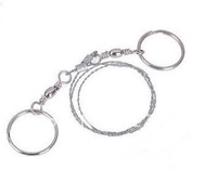 Free shipping /High Quality/Steel Wire Saw Emergency Camping Hunting Survival Tool