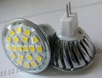 4.5w MR16 LED spotlight - 20 LED's - White or Warm White-DC12V input
