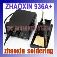 HK or China post  Freeshipping On sale ~ZHAOXIN 936A+ soldering station, original heater ,Welding Station,Desoldering Station