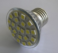 E27 SMD LED spotlight,21pcs 5050 SMD LED,3W