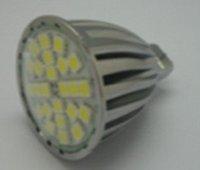 MR16 SMD LED spotlight,24pcs 5050 SMD LED,5W