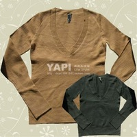 European single takeout long-sleeved sweater.full