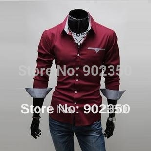 Men's Clothing Designer Brands brand new fashion mens shirts