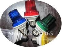 110V/220v E27/B22 Xenon tube strobe light,IP44 outdoor use,flash bulbs
